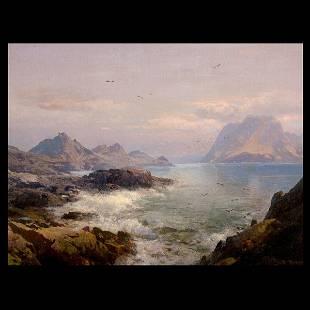 "2081: HERMANN HERZOG ""Farallon Islands, Pacific Coast"""