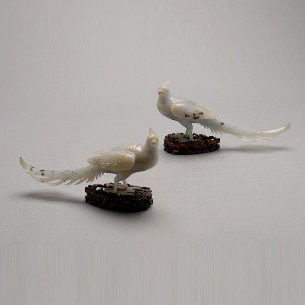 8023: A Pair of Jadeite Pheasants, Republic