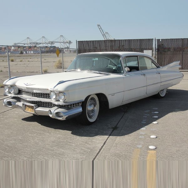 1: 1959 Cadillac Model 62, 6 window, 4 door Sedan