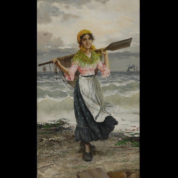 "6: FREDERICK REGINALD DONAT   ""Fisher Girl"""