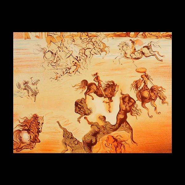 """50: After Salvador Dali """"Les Reveurs"""" Portfolio"""