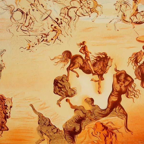 """50: After Salvador Dali """"Les Reveurs"""" Portfolio - 3"""