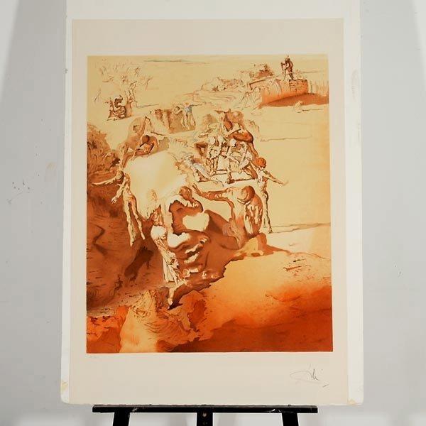 """50: After Salvador Dali """"Les Reveurs"""" Portfolio - 5"""