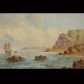 """J.W. WESTBROOK    """"Coastal Scene"""""""