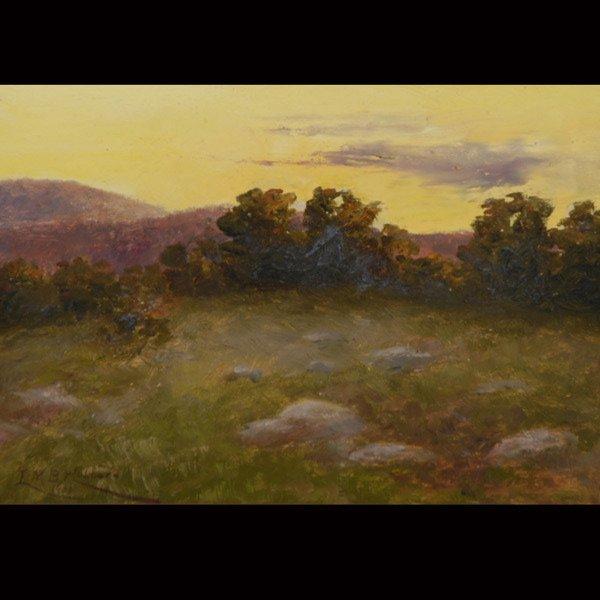"80: LYDIA HUBBARD   ""Landscape""  Oil"