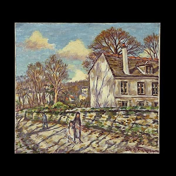 81: Hugo Fisher, An Autumn Afternoon Walk.