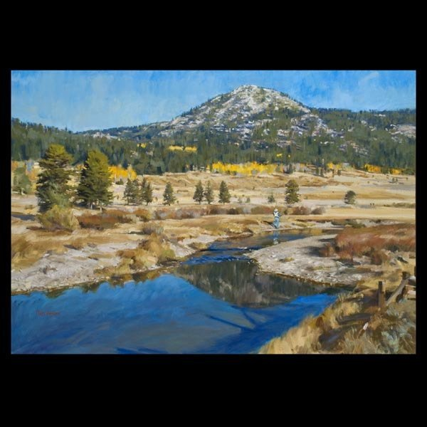 82: TOM HUGHS, American Landscape Painting