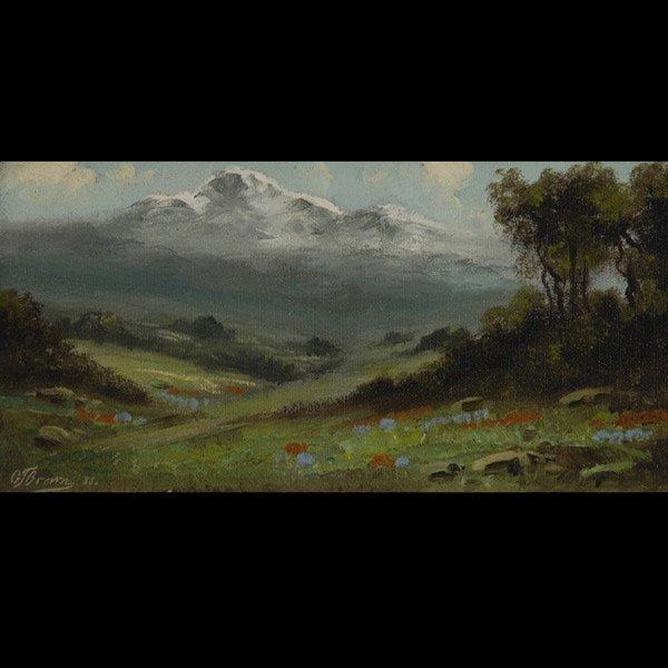 85: GRAFTON TYLER BROWN  Spring Landscape