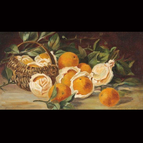 86: FRANK COBURN   Still Life with Oranges