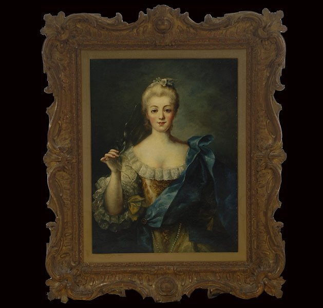 "1: Continental School    ""Portrait of a Woman"""