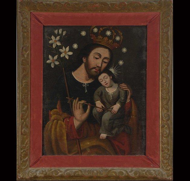 "4: Mexican School   ""Saint John & Child"""