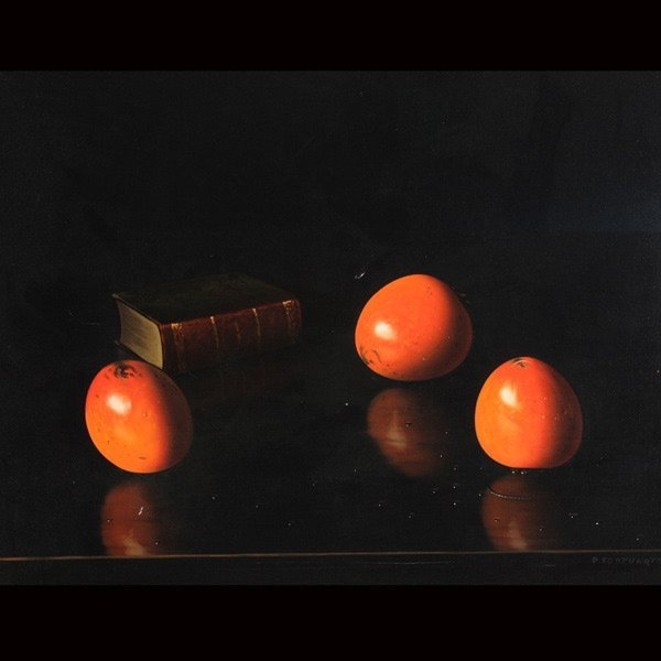 """5: P. FORTUNATO   """"Still Life with Fruit"""""""