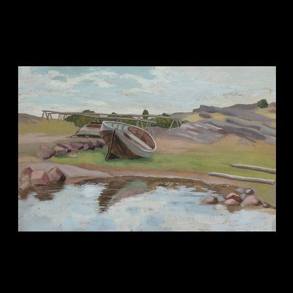 "21: LAURA JARNEFELT  ""Pulled to Shore, 1930"""