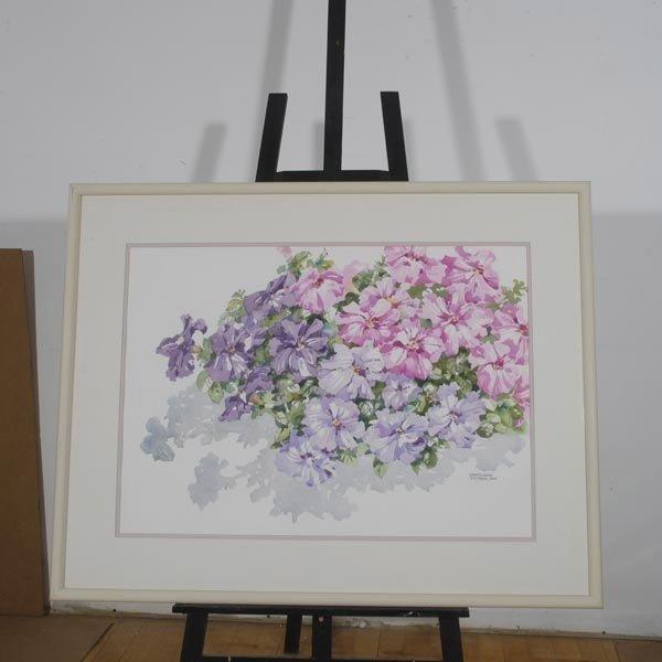 137: CHARLOTTE BRITTON  Two Watercolors - 2