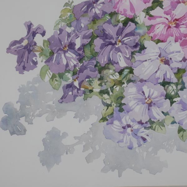 137: CHARLOTTE BRITTON  Two Watercolors - 3