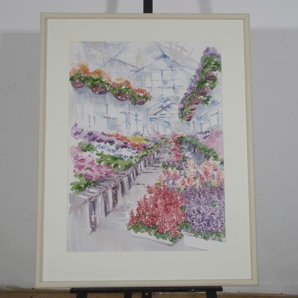 137: CHARLOTTE BRITTON  Two Watercolors - 6