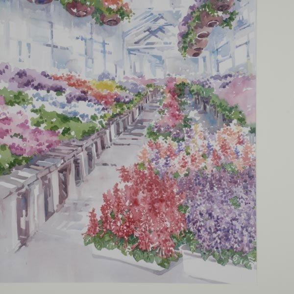 137: CHARLOTTE BRITTON  Two Watercolors - 7
