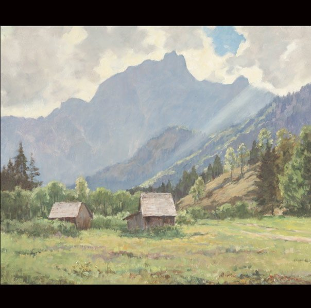 """13: MAX PISTOURIS  """"Farmhouse in the Valley"""""""