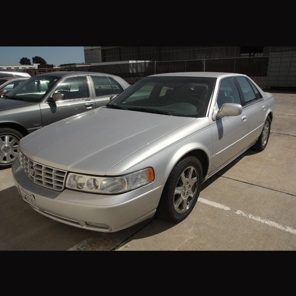 3: 2002 Cadillac STS, 48,208 miles