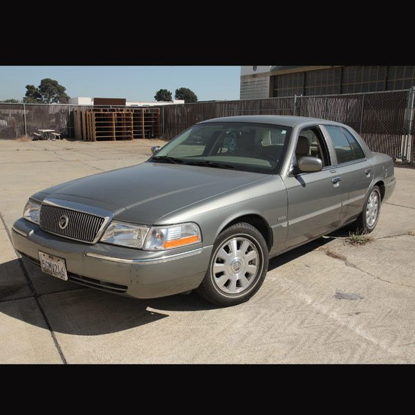4: 2004 Mercury Grand Marquis LS, 24,188 miles
