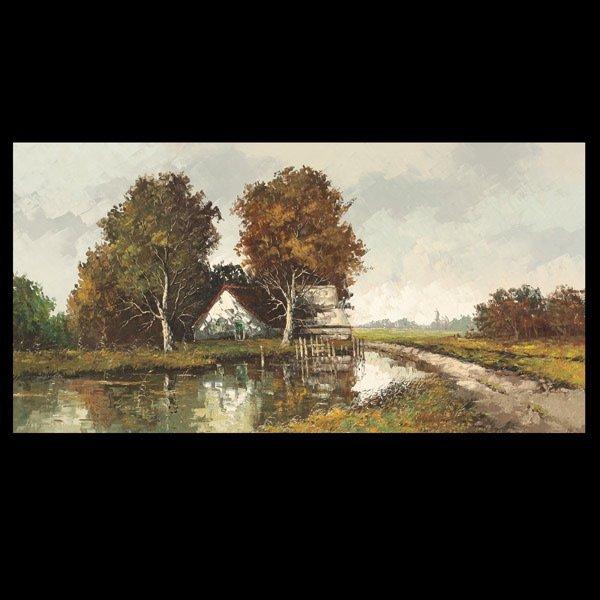 "6: ROELOF DOZEMAN  ""Dutch Landscape"""