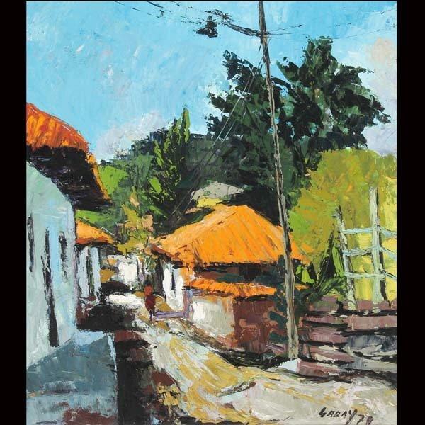 """8: CARLOS GARAY   """"City Streets, 1970"""""""