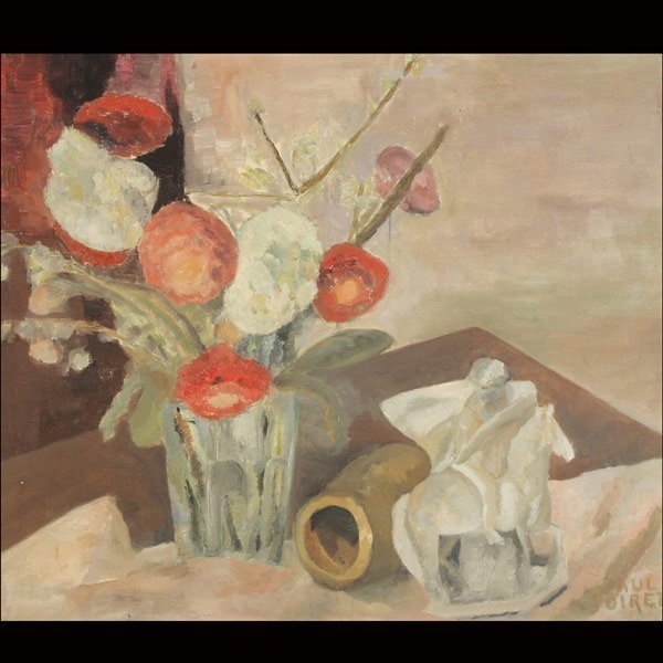 "11: PAUL POIRET  ""Tabletop Still Life"""