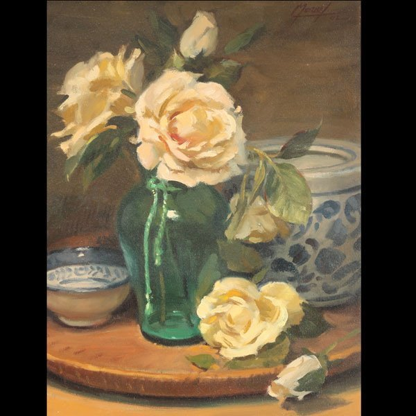 "15: MURRAY  ""Yellow Roses, 2002"""