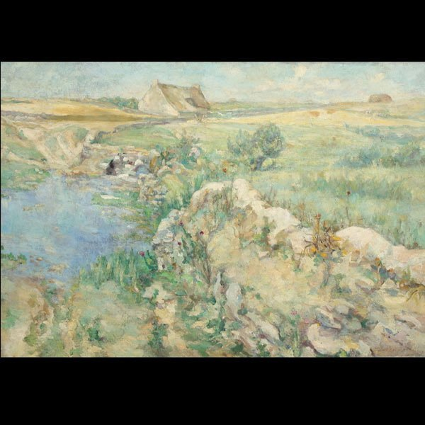 """19: RAPHAEL LEWISOHN  """"La Pondes, 1907"""""""