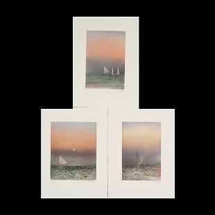"51: KAIKO MOTI ""A Fleur d'Eau Triptych, 1988"""