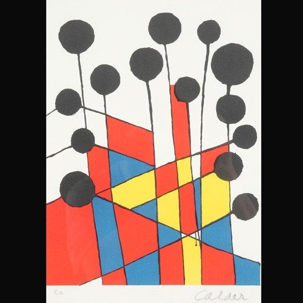 "153: ALEXANDER CALDER   ""Balloons"""