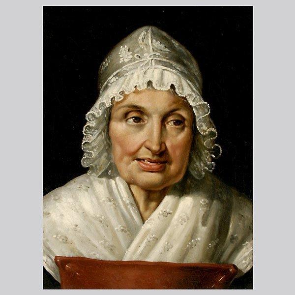 """11: German School    """"Portrait of a Woman"""""""
