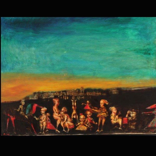 """14: ANDREI MEDVEDEV  """"Fantasy Landscape"""""""