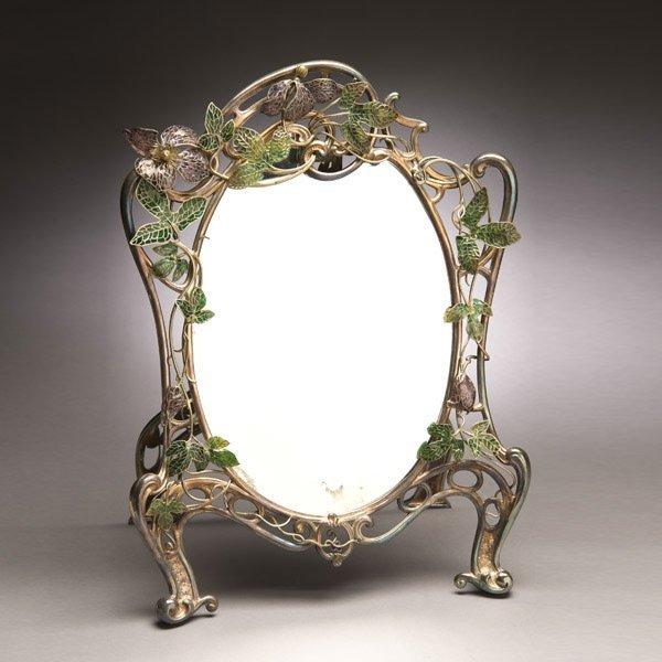 1: Tiffany Studios Dressing Table Mirror