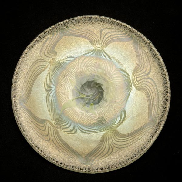 3: Tiffany Studios Peacock Plate
