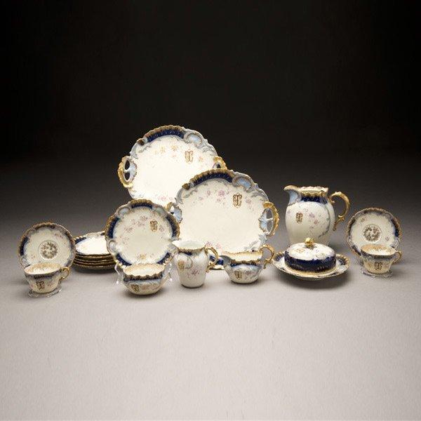 8: Louis C. Tiffany's Personal Limoges Tea Service