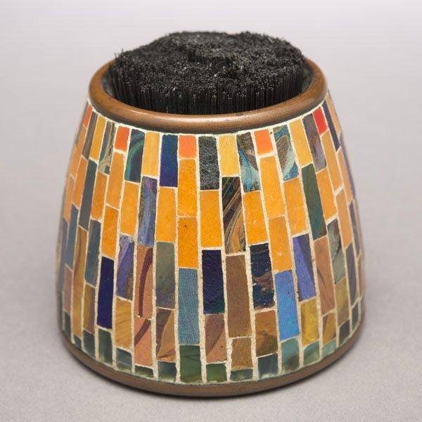 10: Tiffany Studios Mosaic Pen Wiper