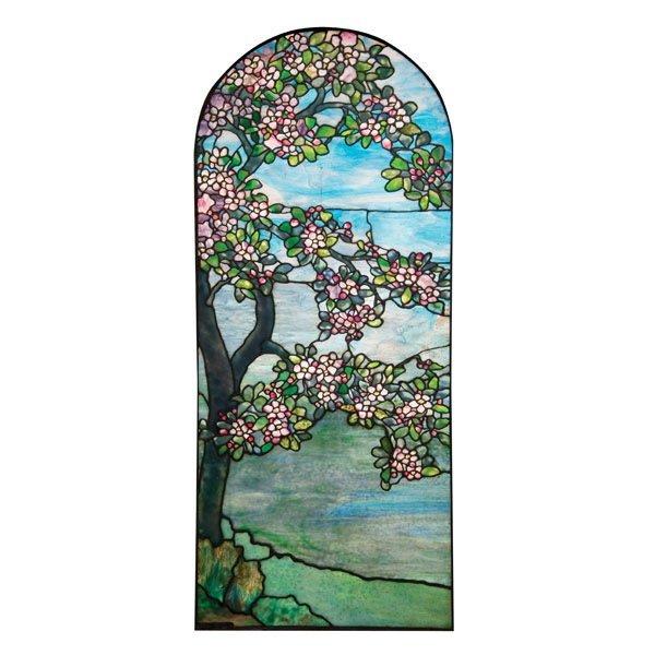 17: Tiffany Studios Apple Blossom Window
