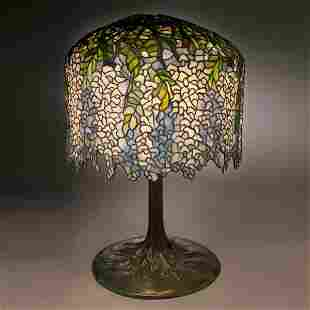 46: Tiffany Studios Wisteria Table Lamp