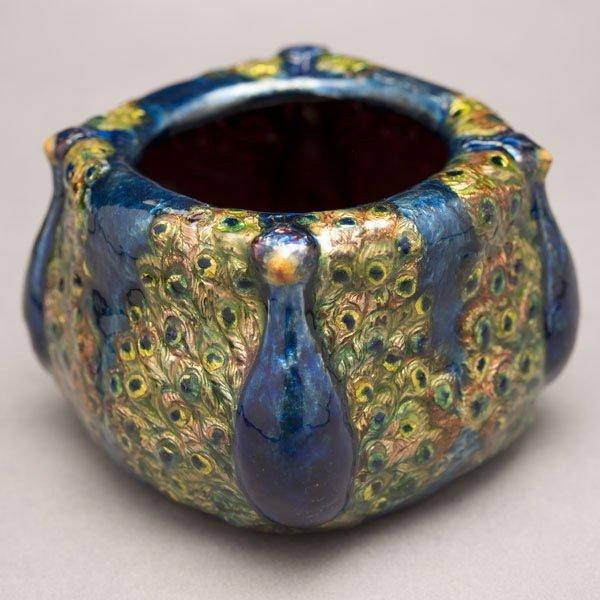 67: Tiffany Studios Peacock Bowl