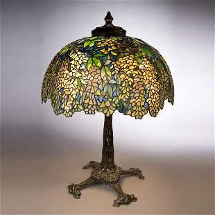 80: Tiffany Studios Laburnum Table Lamp