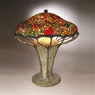 150: Tiffany Studios Zinnia Table Lamp