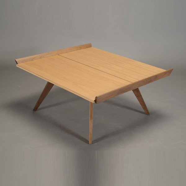 George Nakashima Square Wood Coffee Table