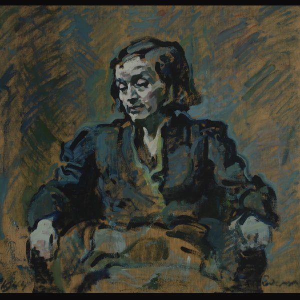 "5: FRANZ REDERER  ""Portrait of Margaritte"""