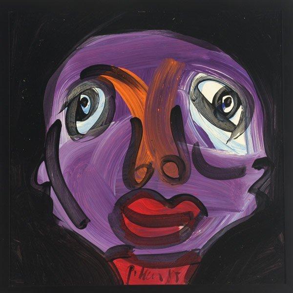 """11: PETER KEIL   """"Black Man, 1985"""""""