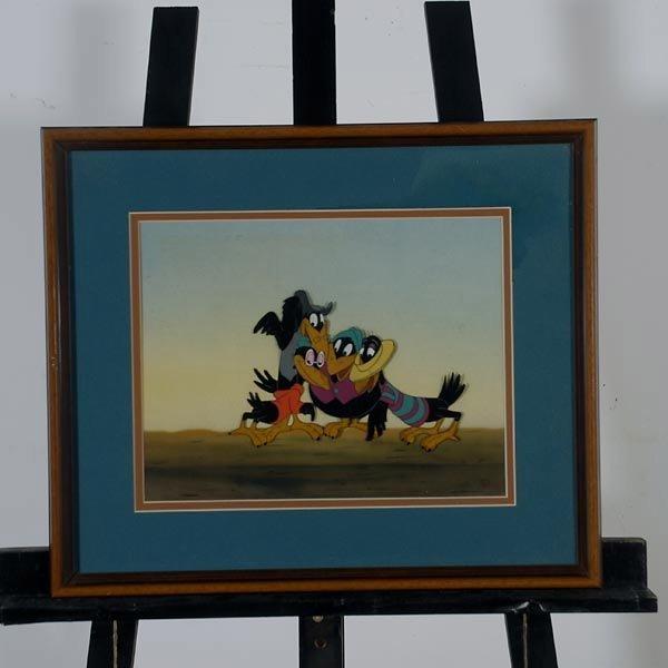 "158: Walt Disney Animation cel  ""Jim Crow from Dumbo"" - 2"