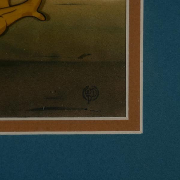 "158: Walt Disney Animation cel  ""Jim Crow from Dumbo"" - 3"