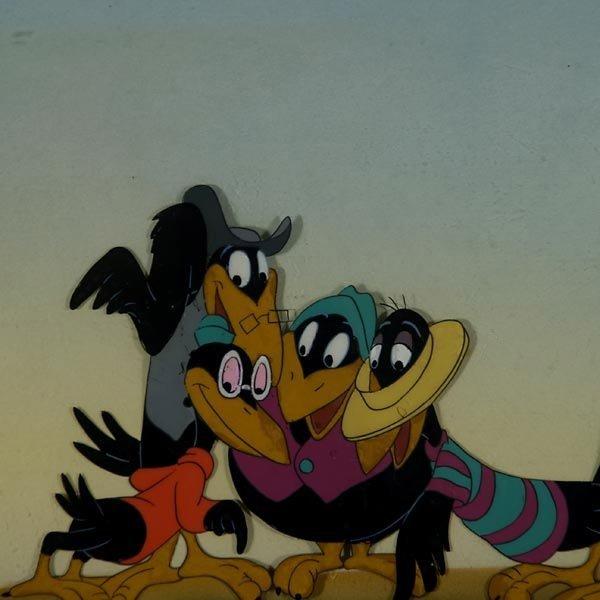 "158: Walt Disney Animation cel  ""Jim Crow from Dumbo"" - 4"