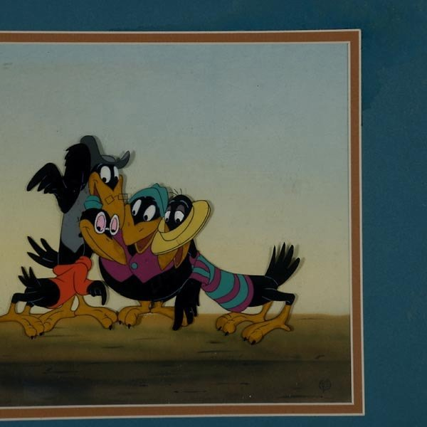 "158: Walt Disney Animation cel  ""Jim Crow from Dumbo"" - 6"