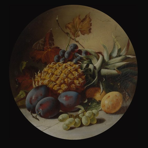 "3: Continental School  ""Still Life with Fruit"""